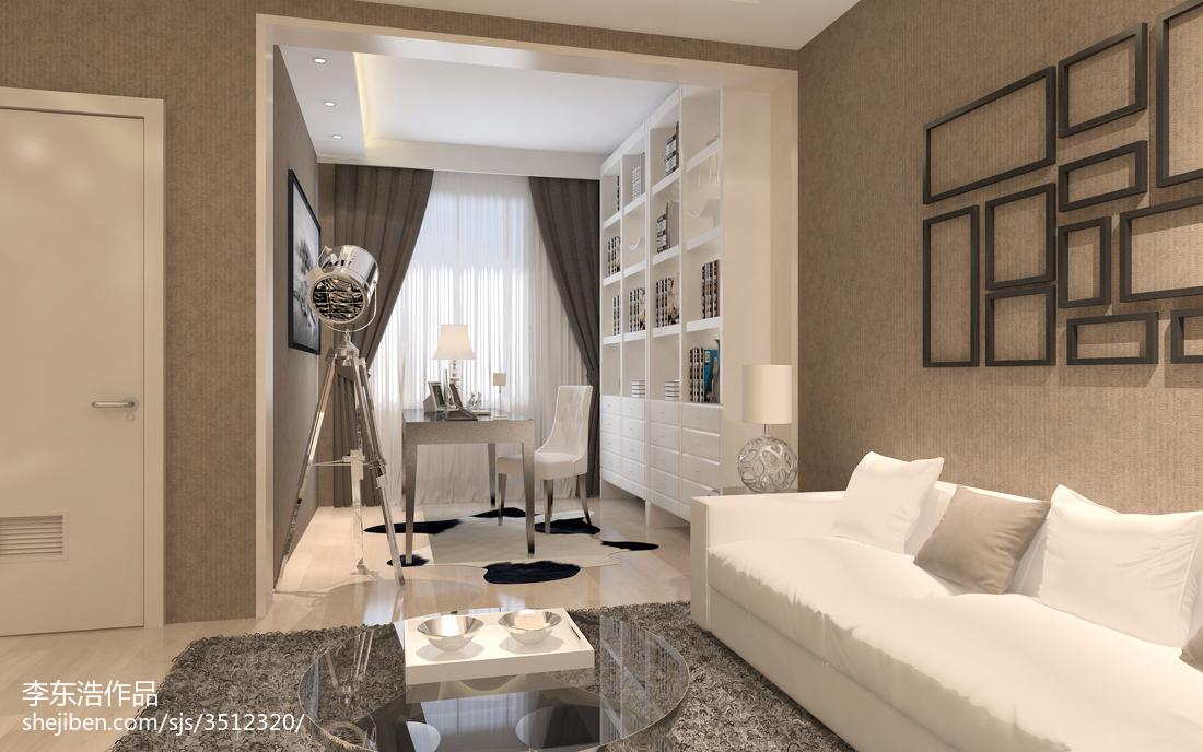 2018精选面积70平小户型客厅现代效果图片大全