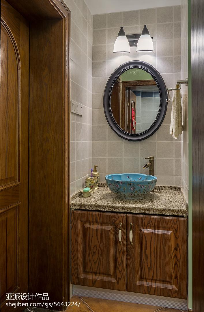 美式风格创意卫浴设计