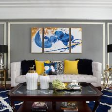 精选四居客厅美式效果图片欣赏