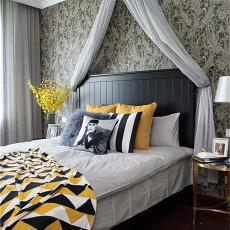 2018精选面积112平美式四居卧室装修图片大全