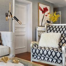 典雅88平美式三居装修美图