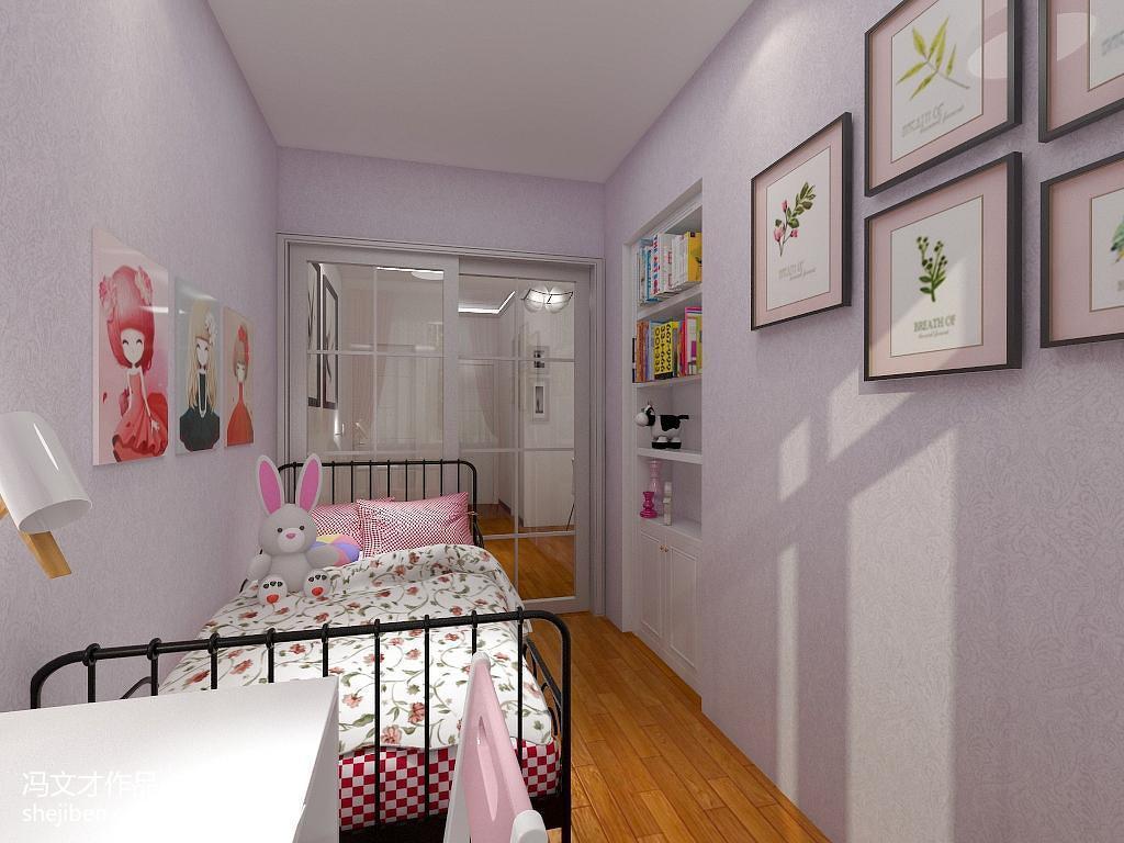 现代小户型儿童房装修图片