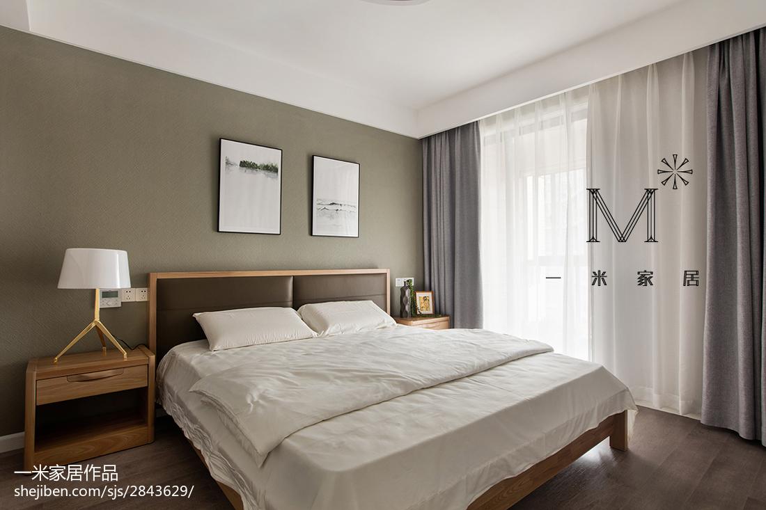 热门106平方三居卧室现代装饰图片欣赏
