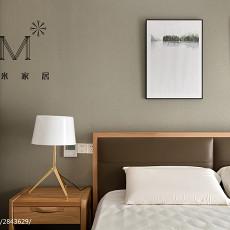 精美面积106平现代三居卧室实景图片欣赏