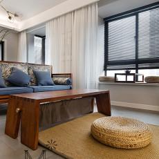 面积105平现代三居客厅装修欣赏图片大全