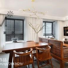 华丽75平现代三居厨房布置图
