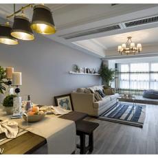 201895平米三居餐厅混搭装修图片大全
