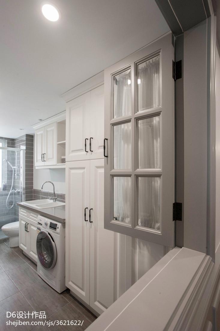 美式风格卫浴间设计效果图