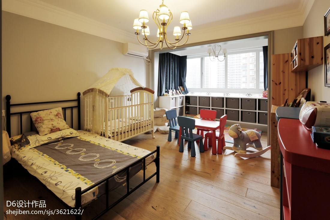 大气美式儿童房设计案例