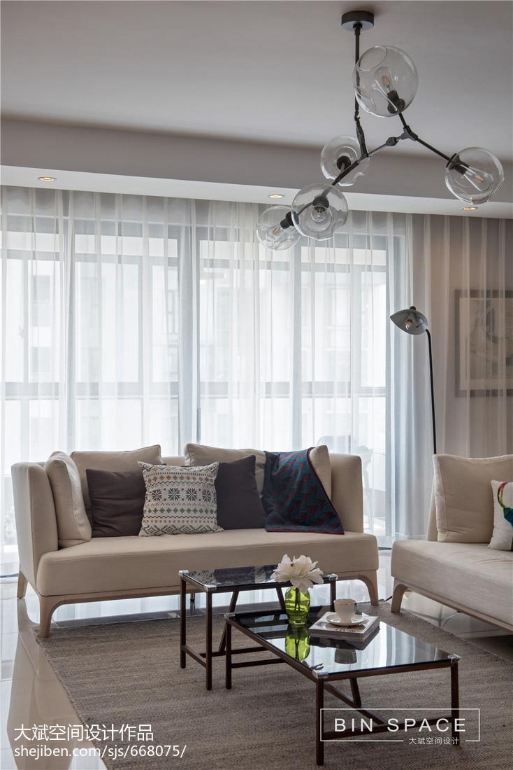 精选北欧四居客厅装修效果图片欣赏