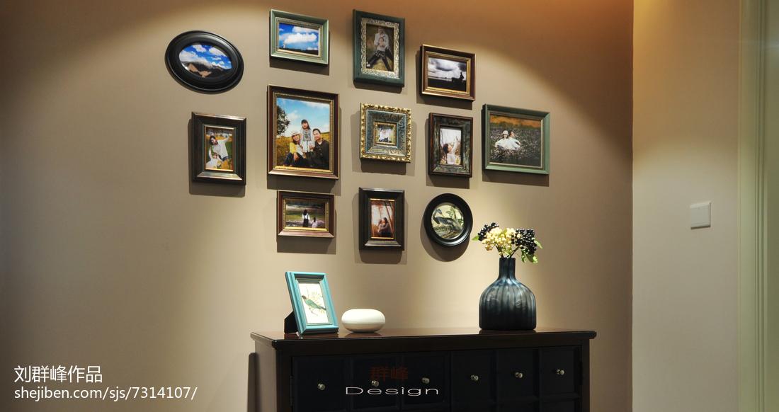 浪漫73平美式复式装饰图片