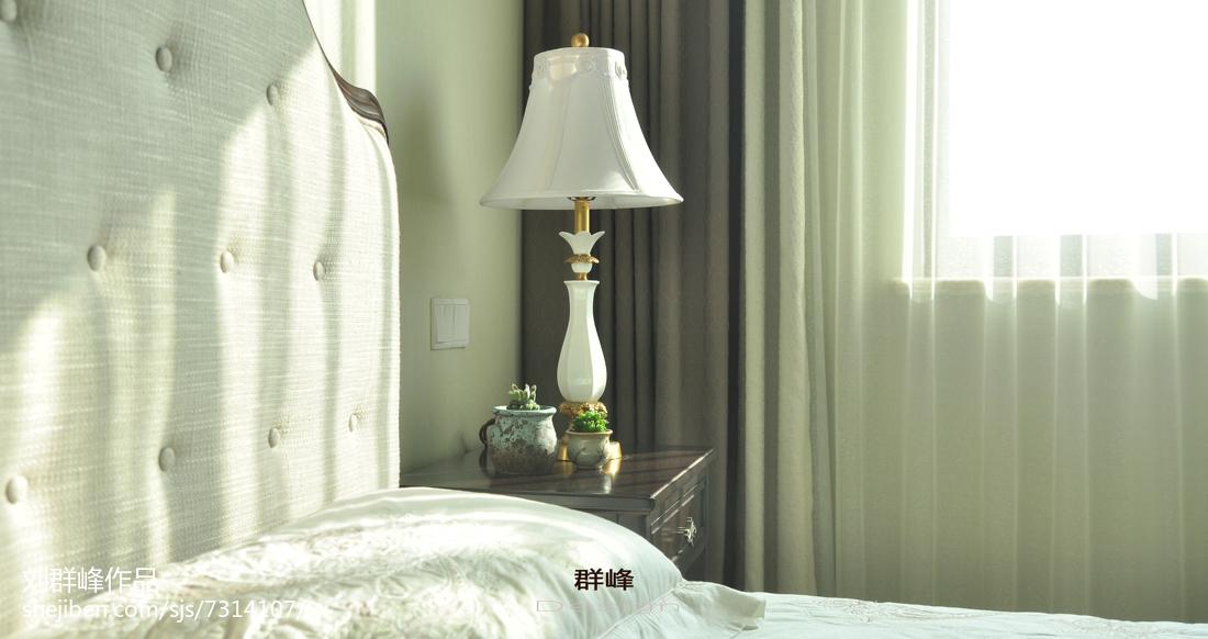 精美126平米美式复式卧室效果图片欣赏
