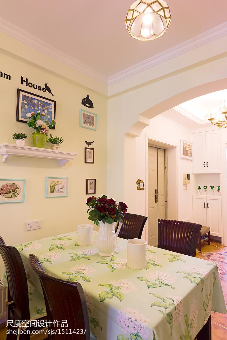 201893平米三居餐厅美式装修图