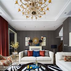 精致350平美式别墅客厅装修图
