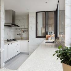 精美美式三居厨房装修设计效果图