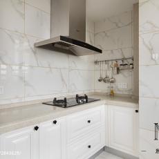 2018精选三居厨房美式效果图片欣赏