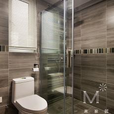 热门现代四居卫生间装饰图片大全