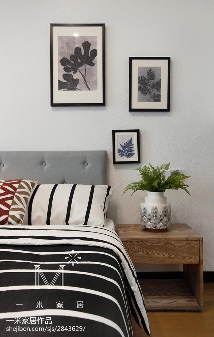 精选116平米四居卧室现代装饰图片