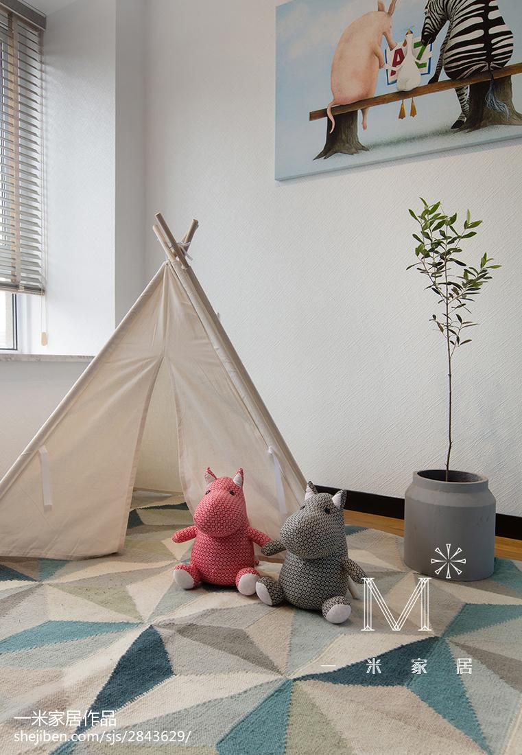 热门现代四居儿童房装修设计效果图