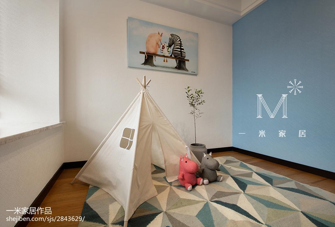 面积141平现代四居儿童房装修欣赏图片大全