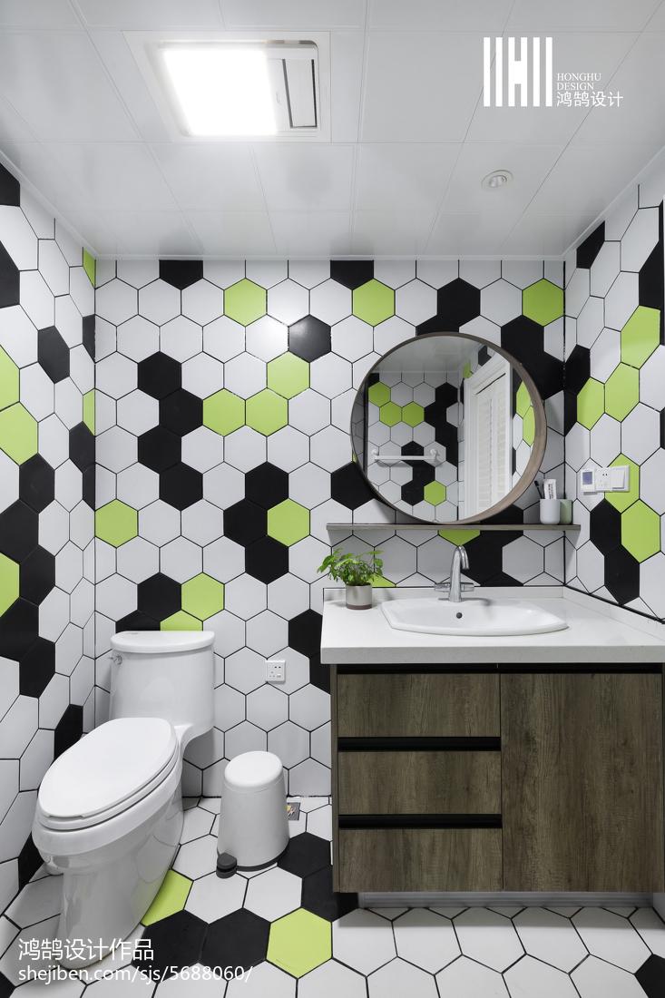 热门二居卫生间北欧装饰图片