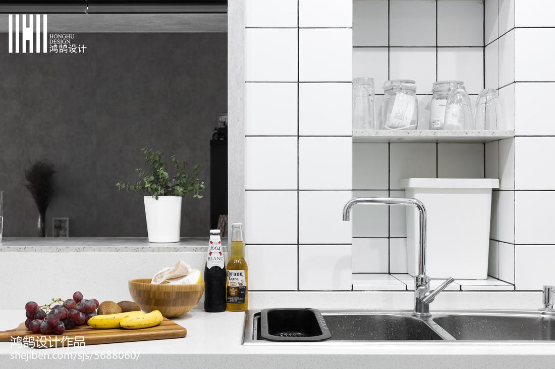 2018北欧二居厨房装修图