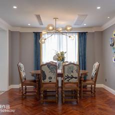 热门美式三居餐厅装修效果图片欣赏