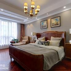 精选美式三居卧室装修实景图