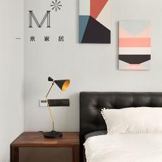 热门100平米三居卧室现代装修设计效果图
