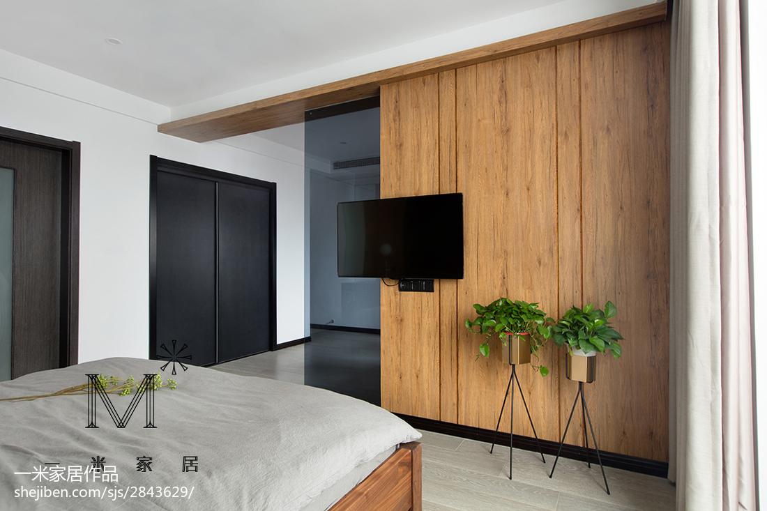 美式臥室背景墻裝修