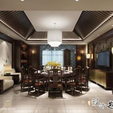 创意美观复古餐厅装修效果图