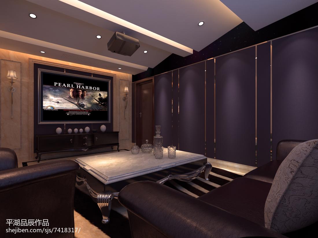气质时尚混搭温馨卧室装修效果图