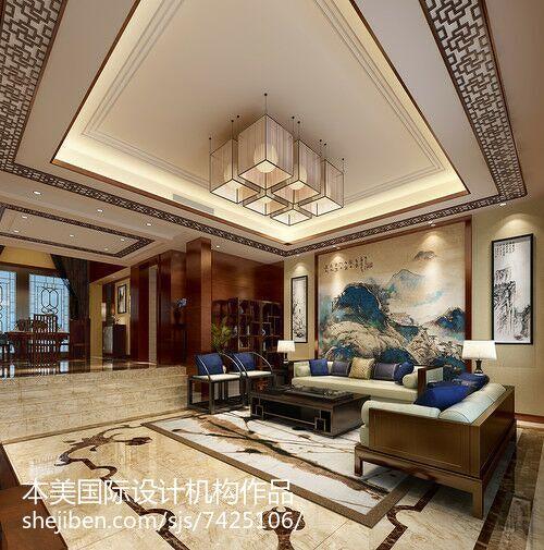 雅致时尚北欧风格客厅装修效果图
