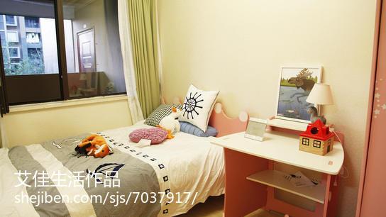 雅致时尚北欧风格卧室装修效果图