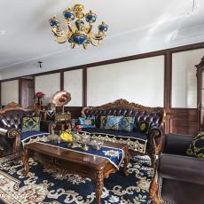 2018大小97平欧式三居客厅装饰图
