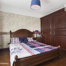 精选98平米三居卧室欧式装修实景图片欣赏