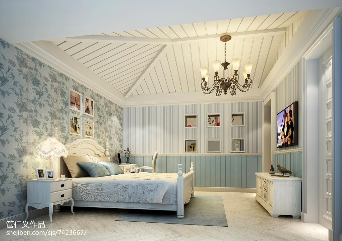 精选面积130平别墅儿童房美式装修图片欣赏