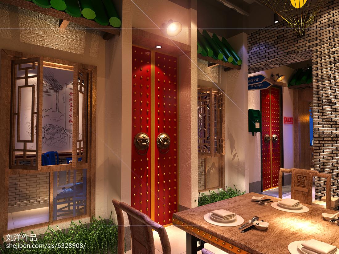 清新美式田园餐厅装饰