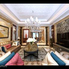奢华欧式客厅装修效果图