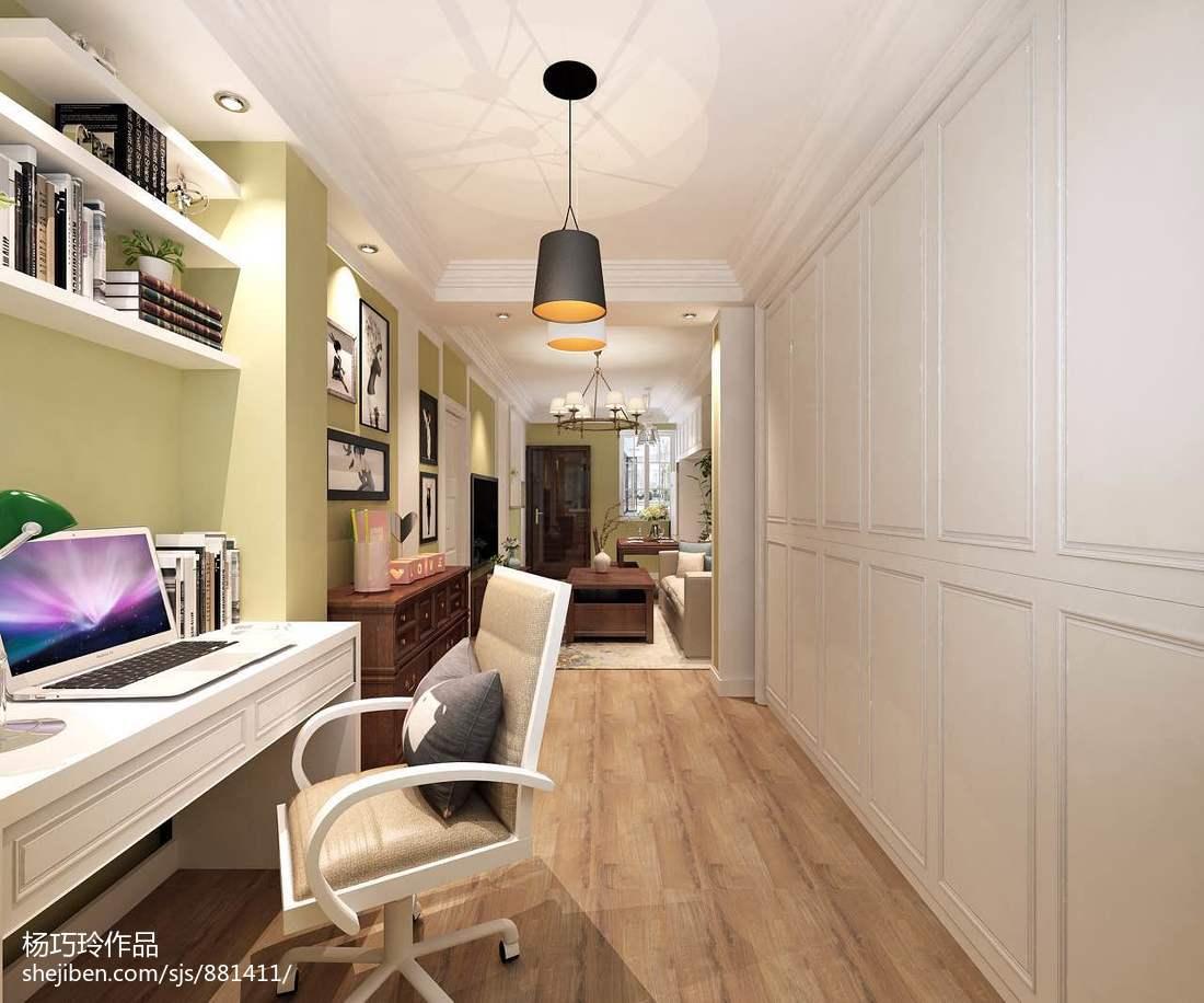 美式小户型卧室效果图