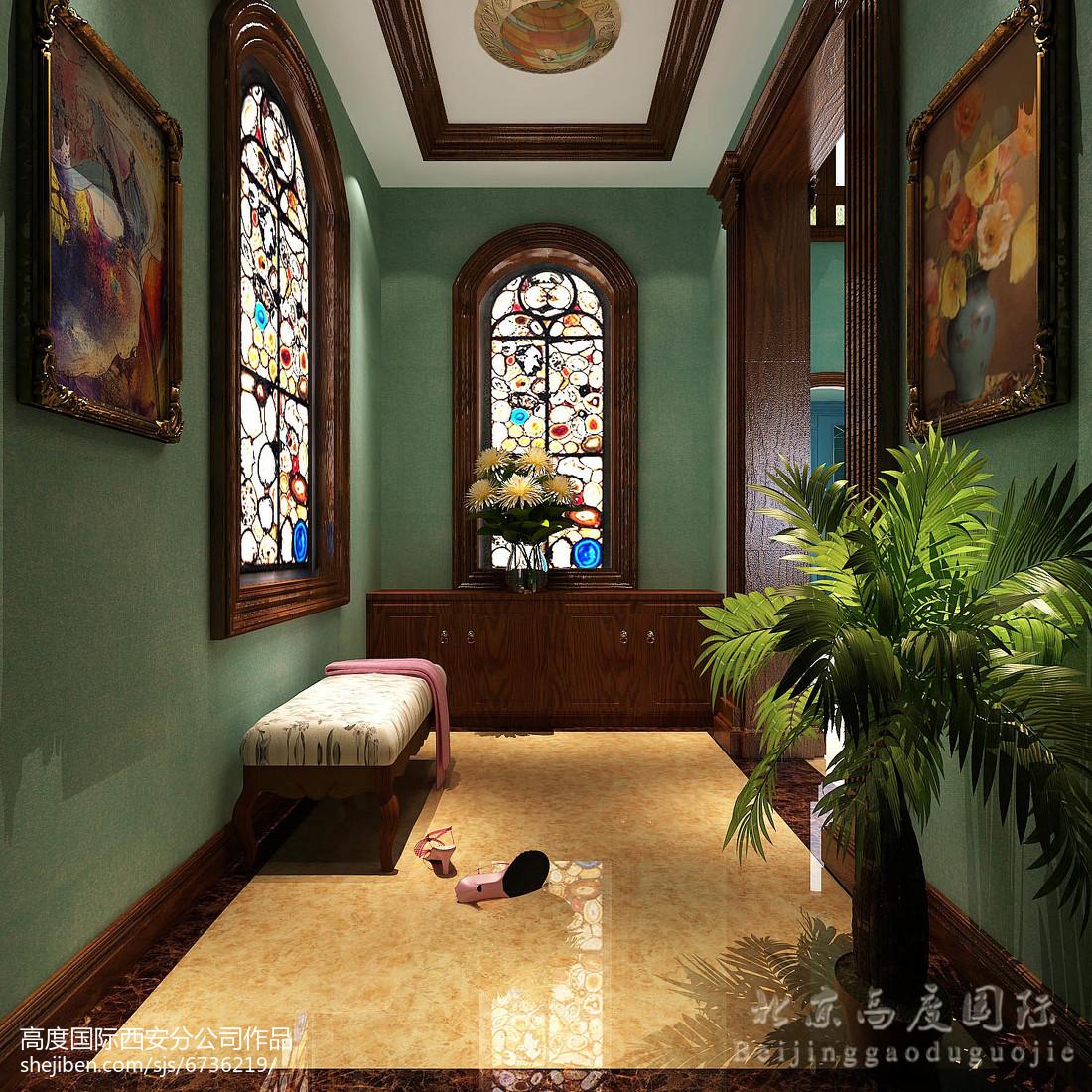 欧式风精美卧室图