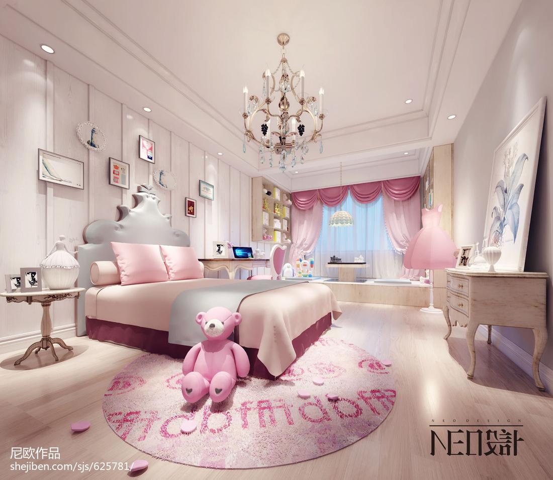 时尚休闲风格现代小卧室装修效果图