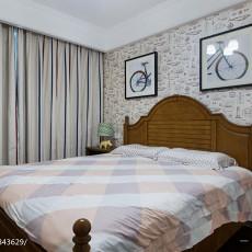 大气84平美式三居卧室设计图