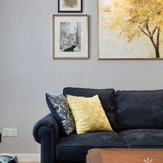 精选大小102平美式三居客厅欣赏图