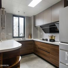 简洁111平现代三居装修图片