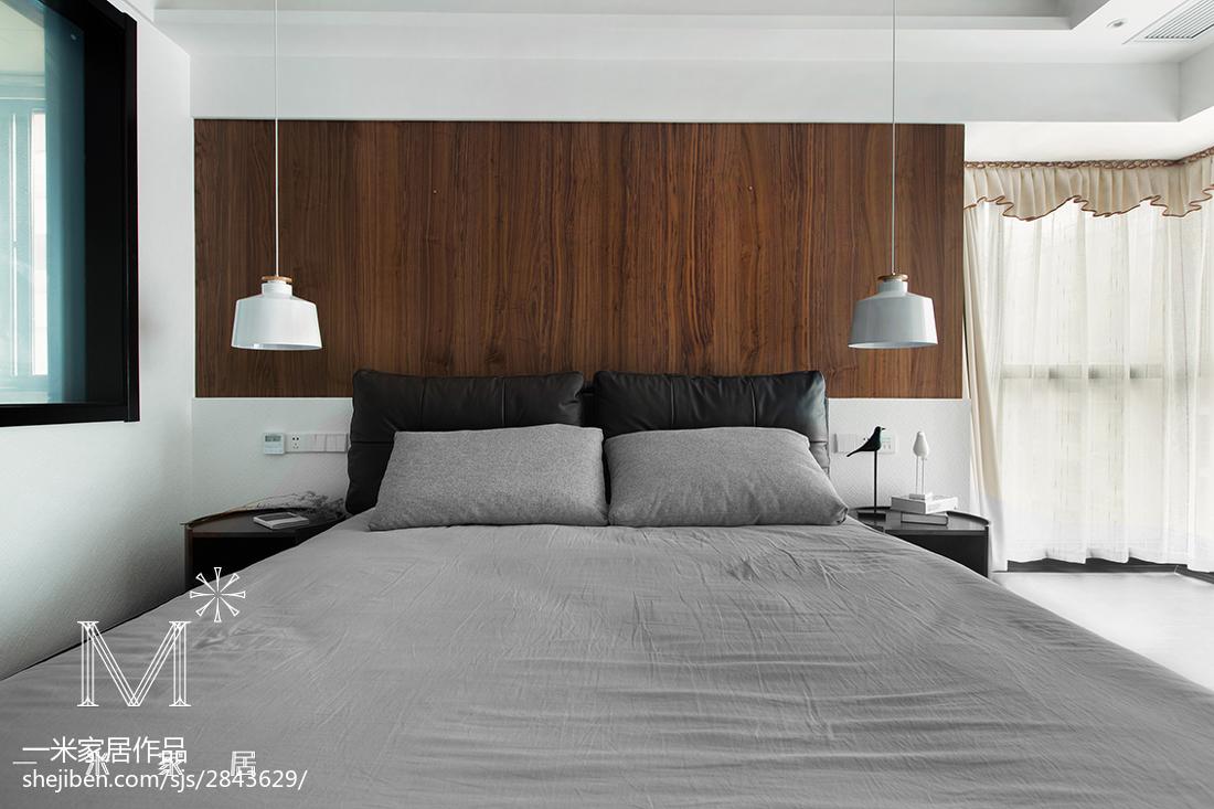精选101平米三居卧室现代装修设计效果图片