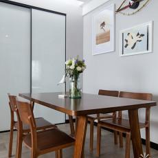 典雅113平现代三居餐厅美图