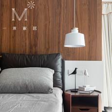 简洁87平现代三居卧室效果图片大全