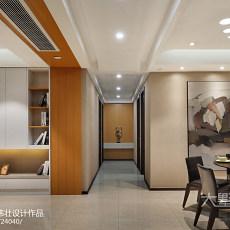 华丽104平现代三居装饰图