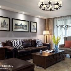 美式家居客厅设计